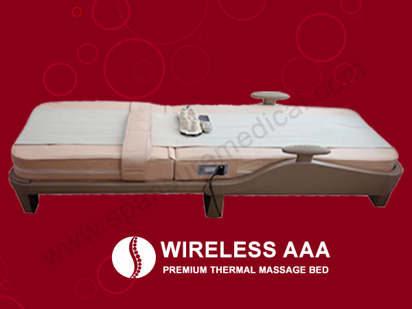 spansure thermal massage bed massage chairs
