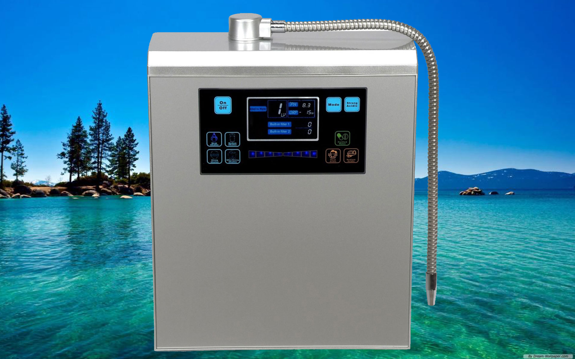 Ph Alkaline Water Ioniser Bawell Aaa Thermal Massage Bed
