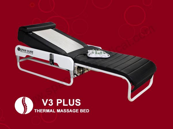 V3-PLUS-thermal massagebed,spansuremedical.com